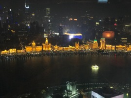 The Bund from above
